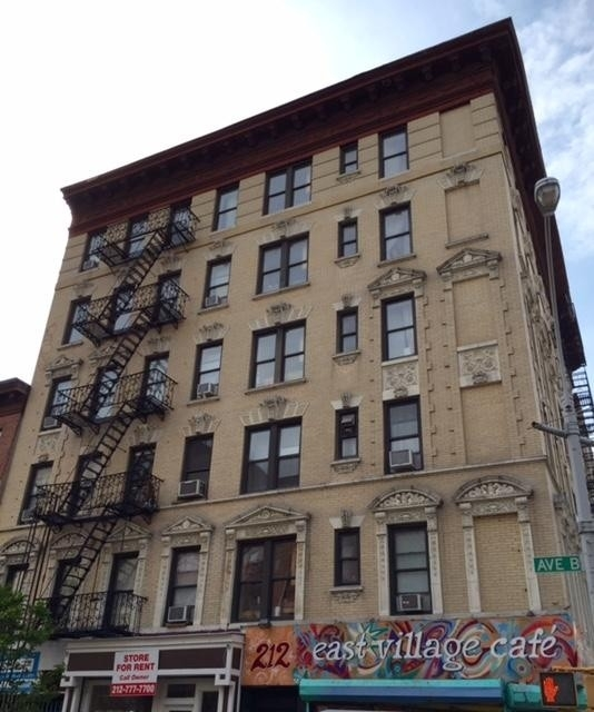 1. building at 212 Avenue B, Alphabet City, New York, NY