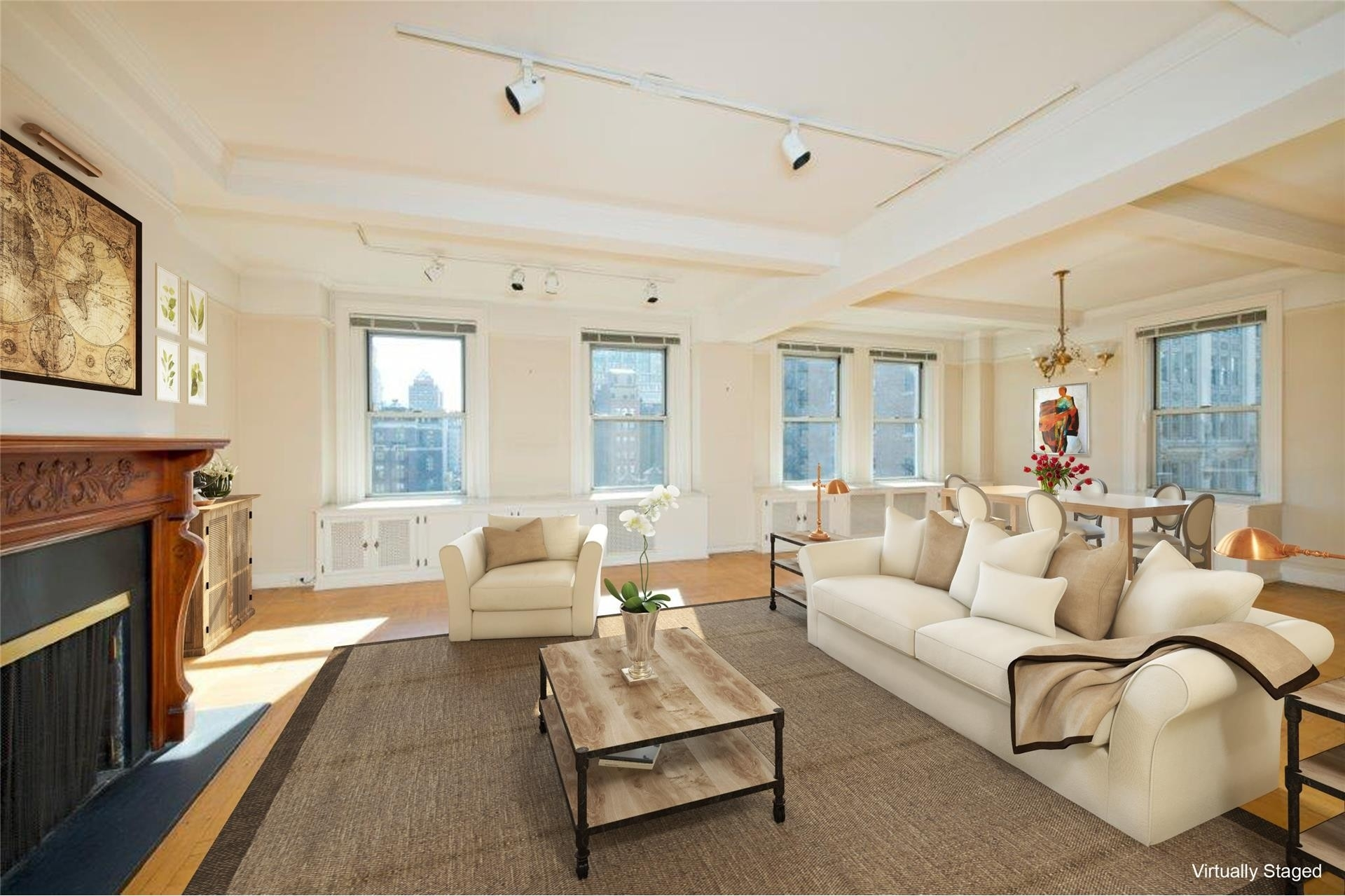 1. Gramercy Park Resid. Corp. здание в 60 Gramercy Park North, Gramercy Park, New York, NY