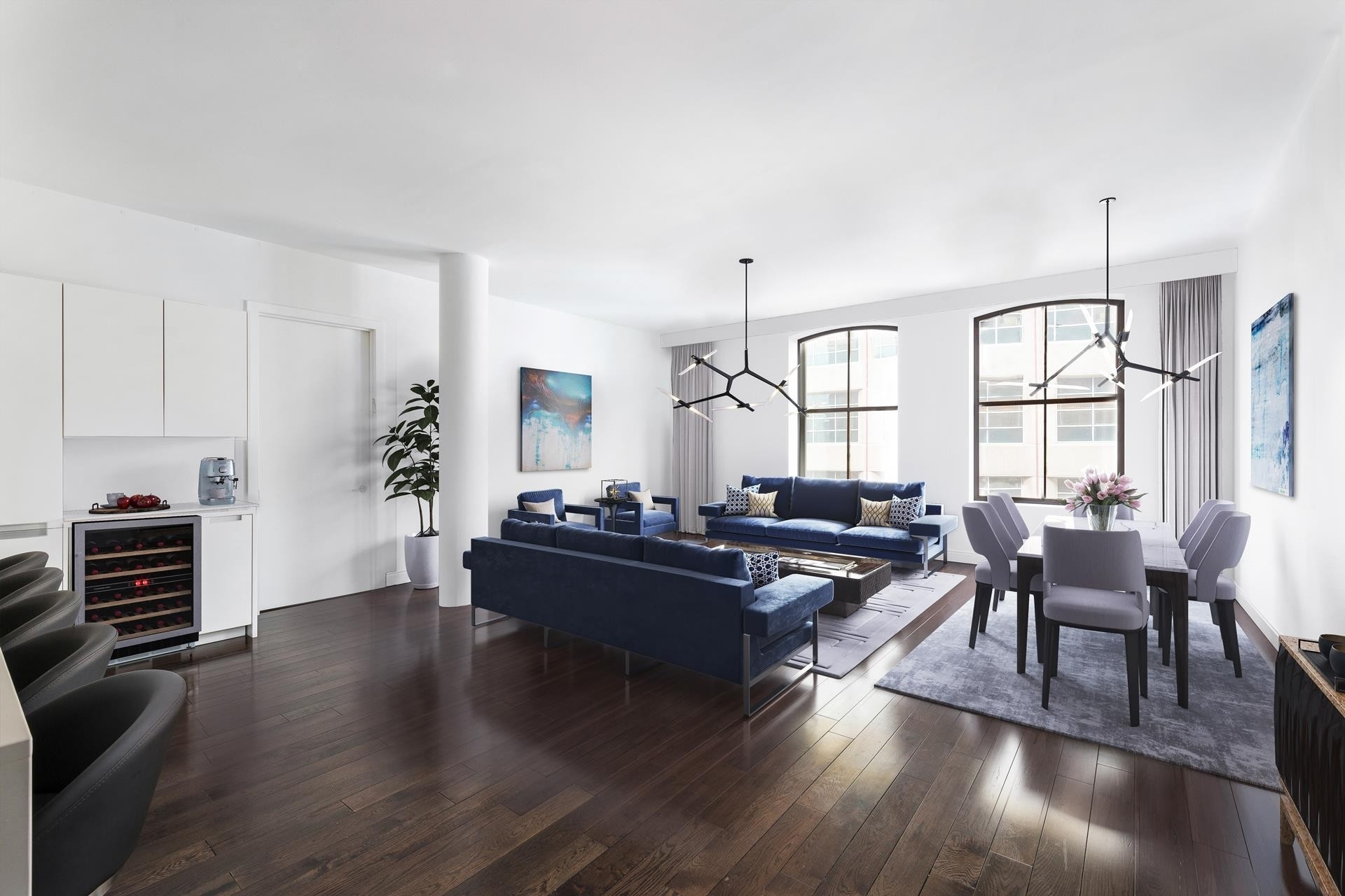 Condominium at 250 West St, 7F New York