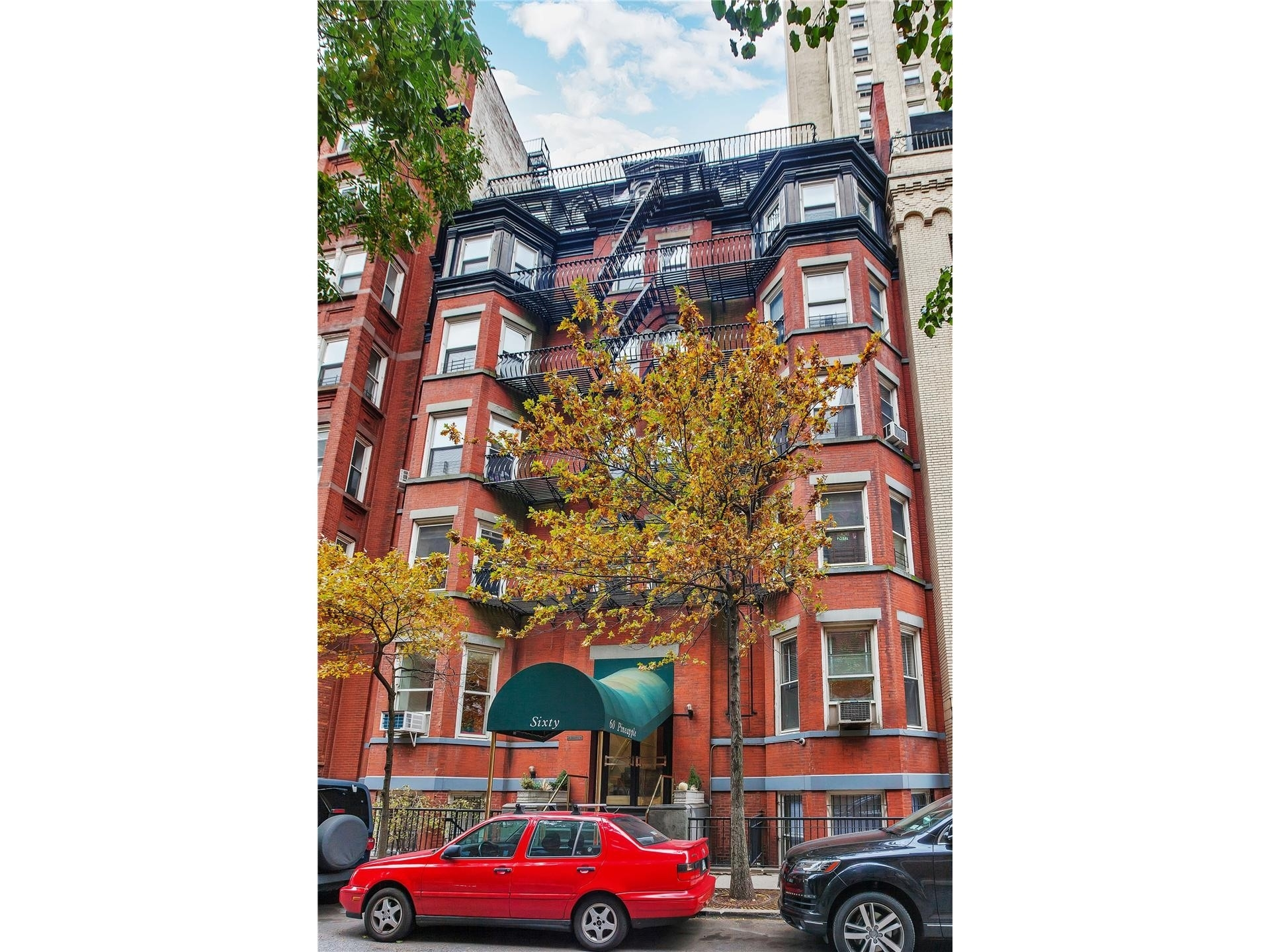 1. 建於60 Pineapple St, Brooklyn Heights, Brooklyn, NY