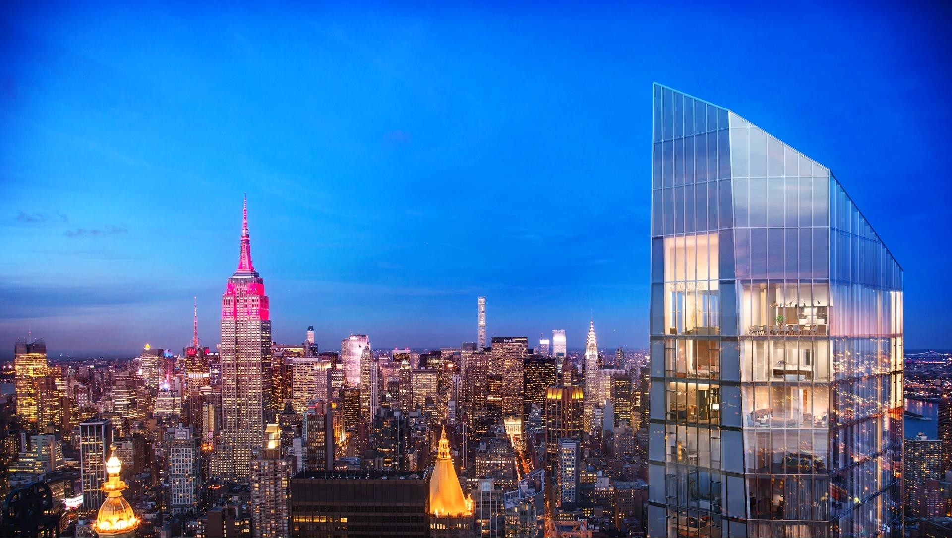 Condominium at Madison Square Park Tower, 45 East 22nd St, PHAB New York