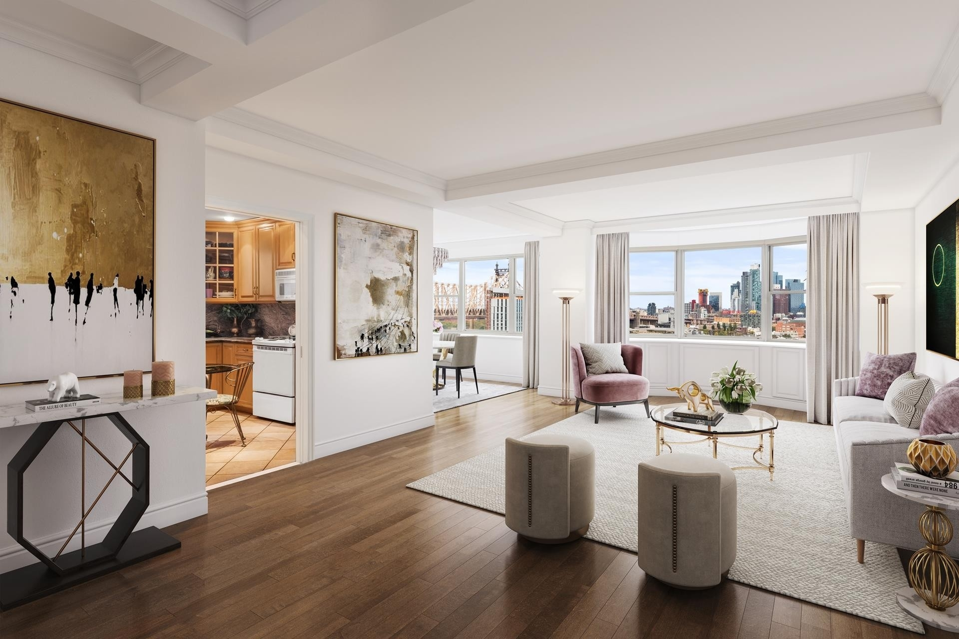 Co-op Properties at 25 Sutton Pl South, 17M New York