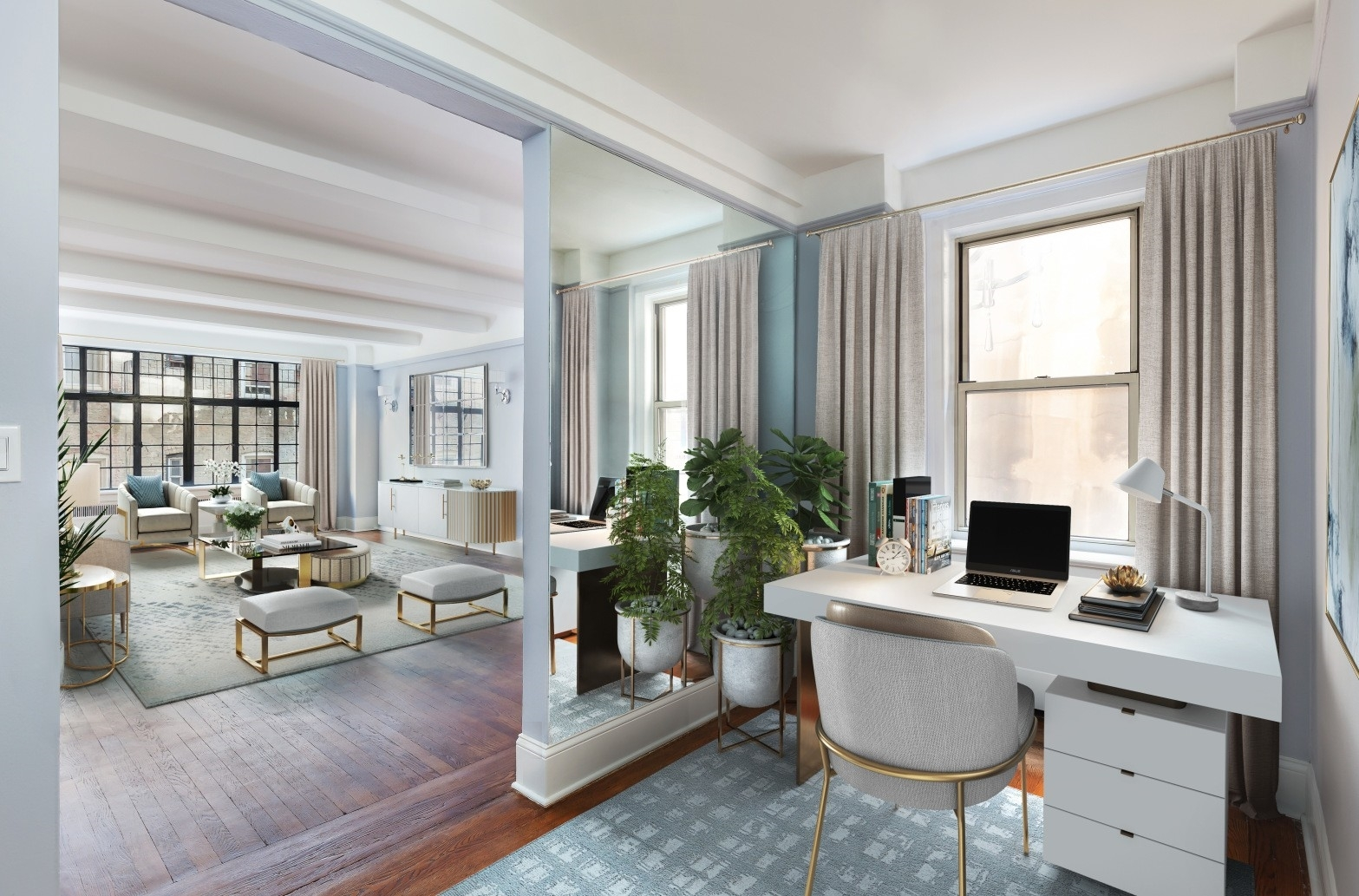 2. Co-op Properties for Sale at GRAMERCY OWNERS LTD, 44 Gramercy Park North, 4D Gramercy Park, New York, NY 10010