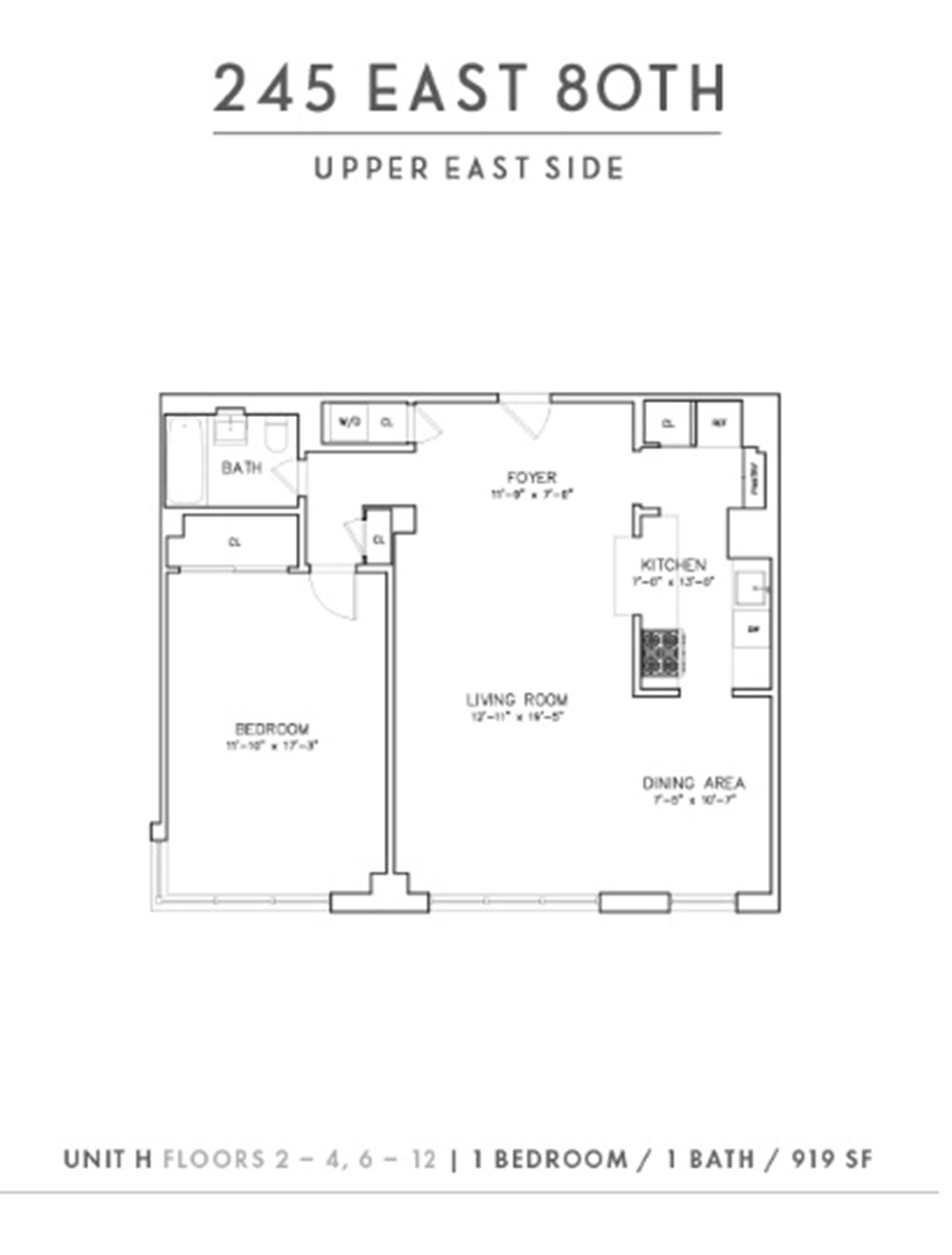 1. Rentals at 245 East 80th St, 3H New York