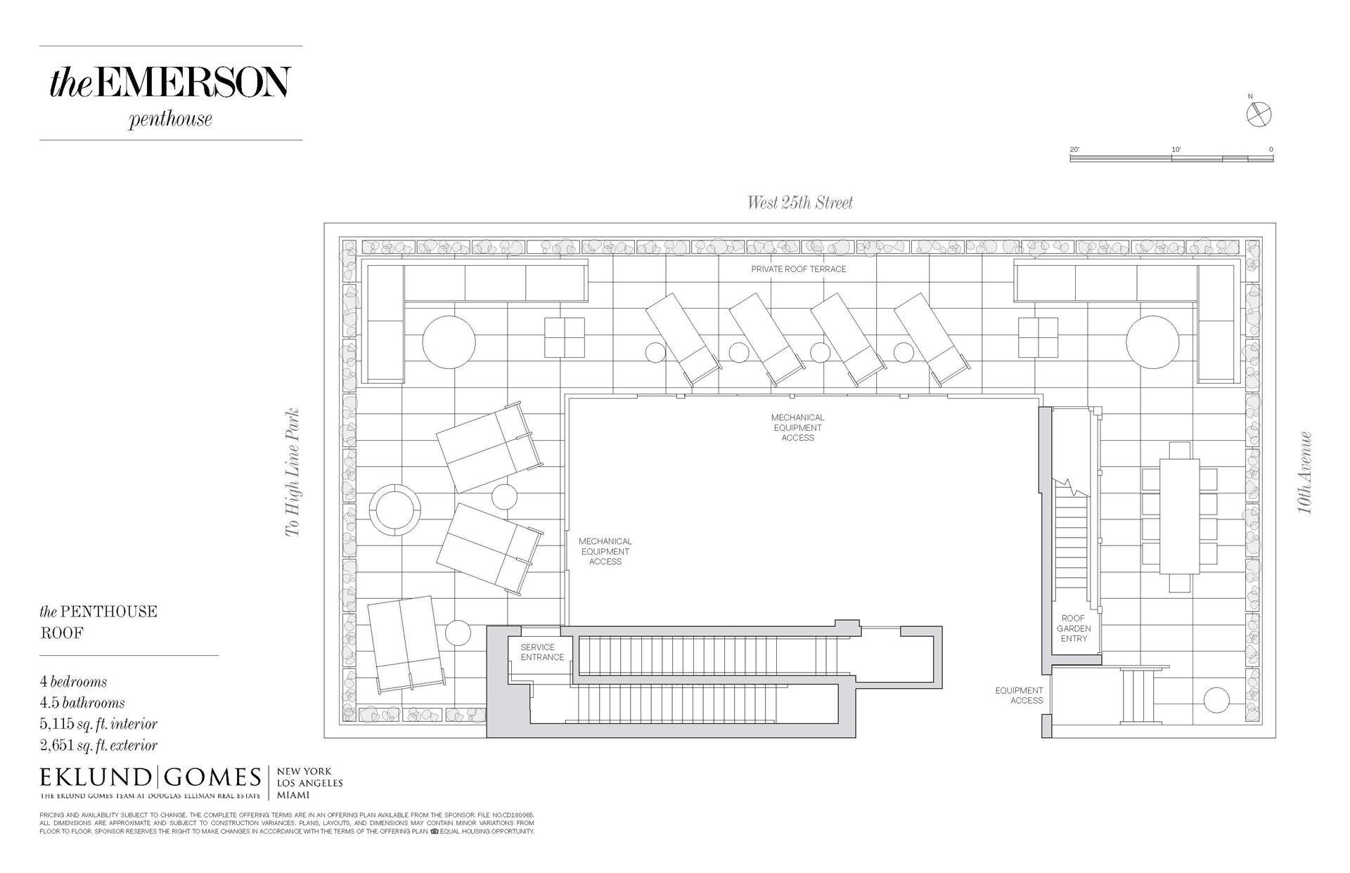 3. Condominiums for Sale at 500 W 25TH ST , PH Chelsea, New York, NY 10001