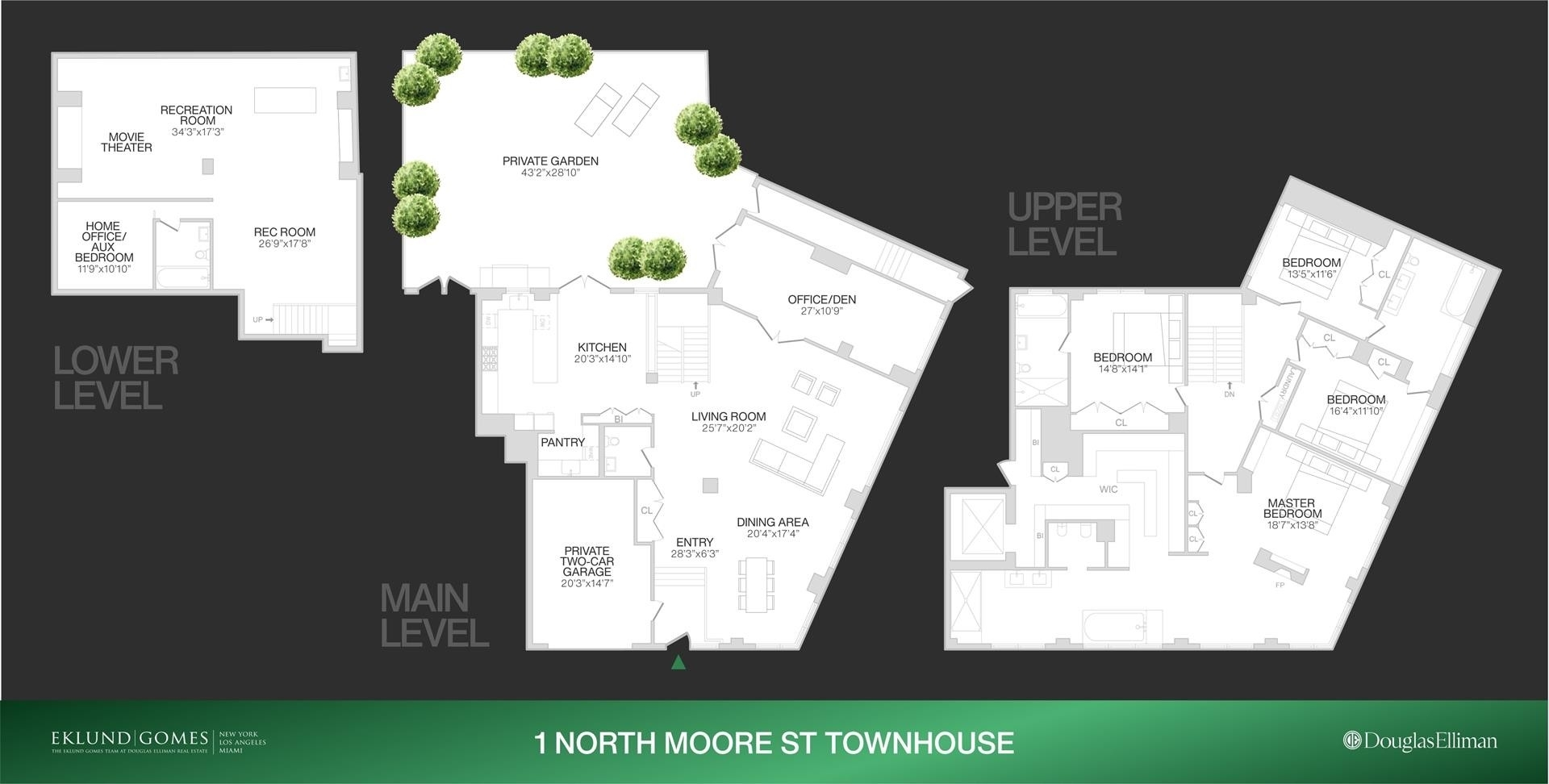 1. Condominiums for Sale at 1 North Moore St, TOWNHOUSE TriBeCa, New York, NY 10013