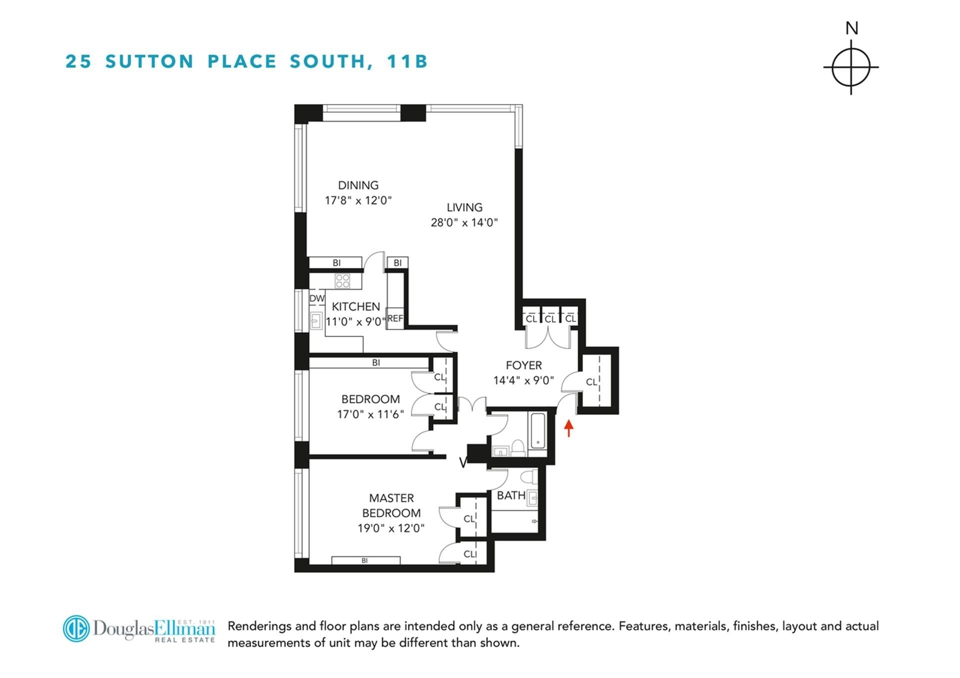 1. Co-op Properties for Sale at Cannon Point North, 25 SUTTON PL S, 11B Sutton Place, New York, NY 10022