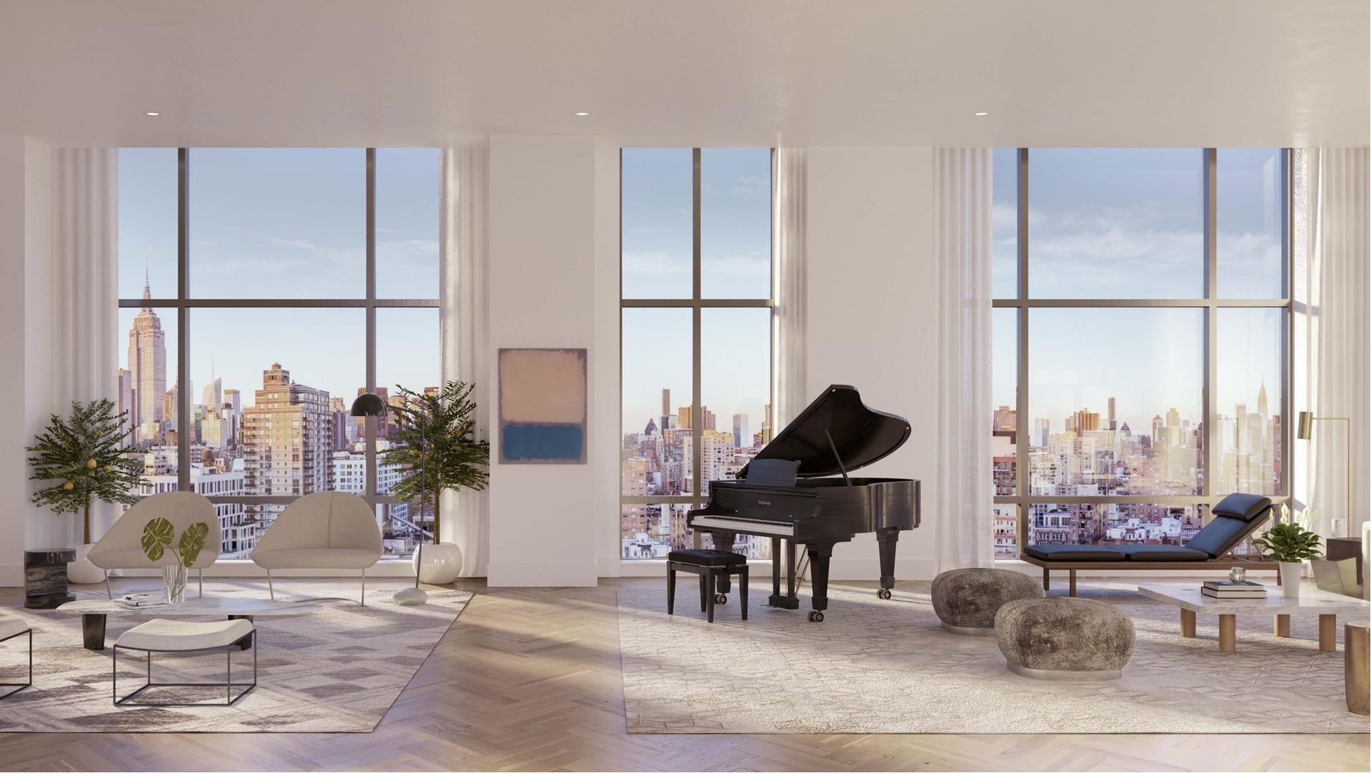 Condominium for Sale at Gramercy Square, 215 East 19th St, 16C Gramercy Park, New York, NY 10003