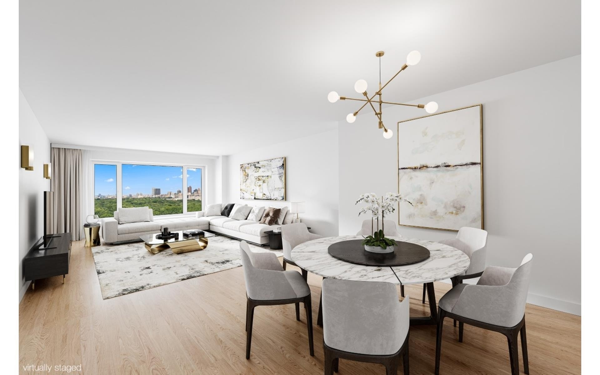 Co-op Properties for Sale at 200 CENTRAL PARK S, 24B Central Park South, New York, NY 10019