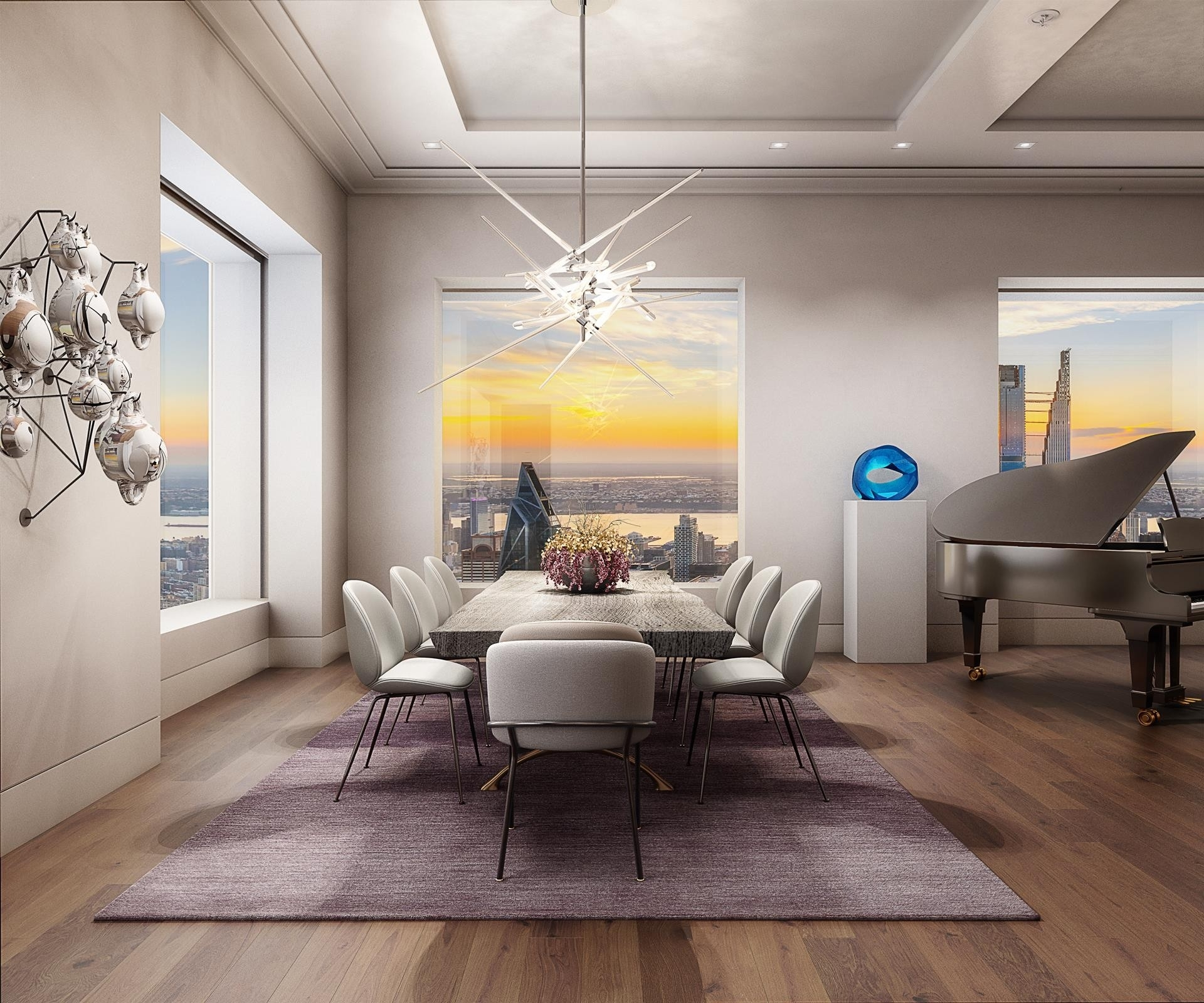 3. Condominiums для того Продажа на 432 Park Avenue, 82FL Midtown East, New York, NY 10022