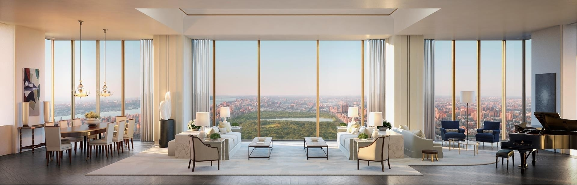 2. Condominiums for Sale at 111 West 57th St, PH72 Midtown West, New York, NY 10019