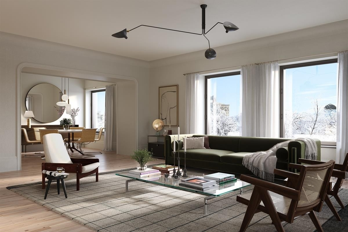Condominium pour l Vente à 1 Prospect Park West, PHD Park Slope, Brooklyn, NY 11215