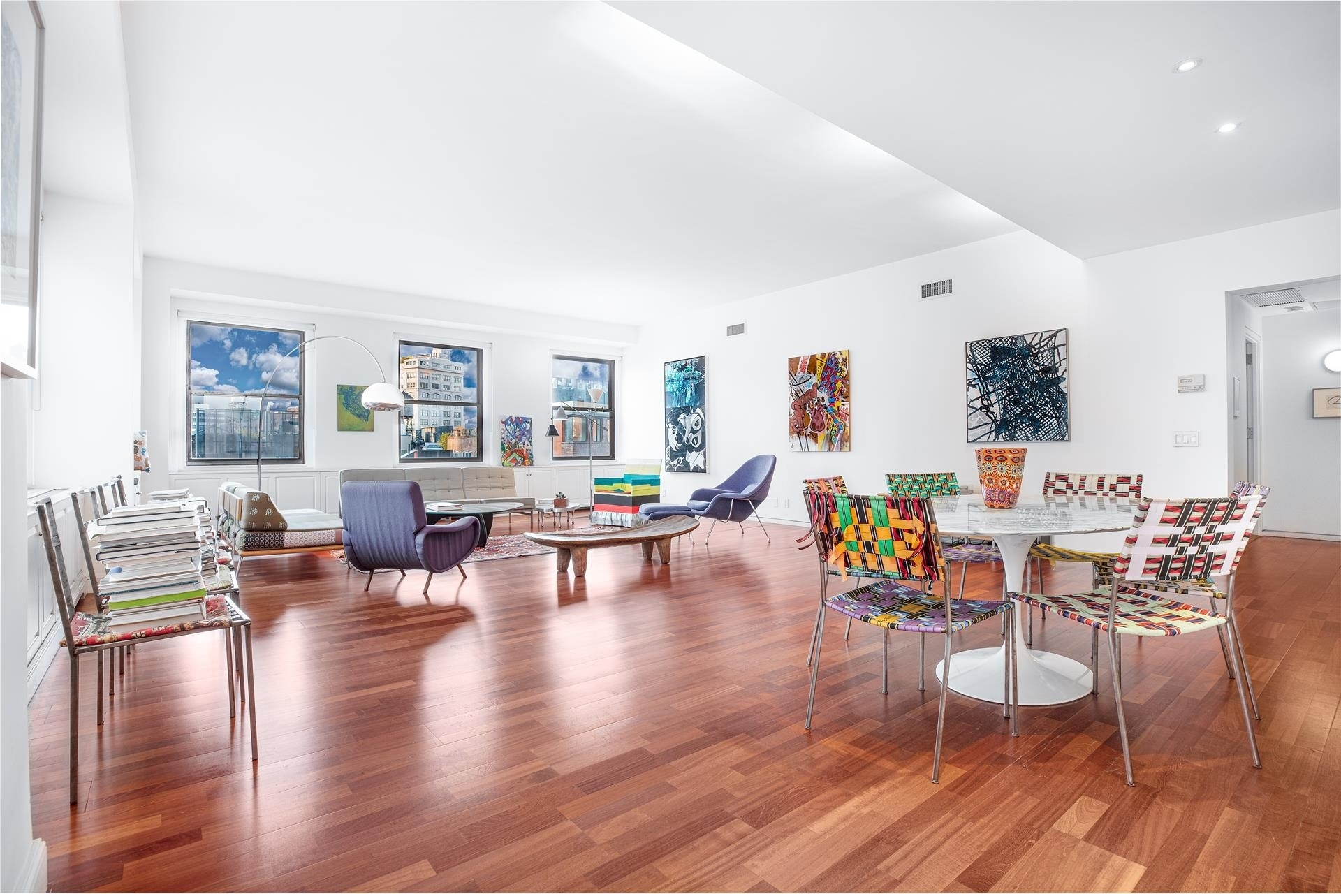 3. Condominiums for Sale at FRANKLIN TOWER, 90 Franklin St, 7S TriBeCa, New York, NY 10013