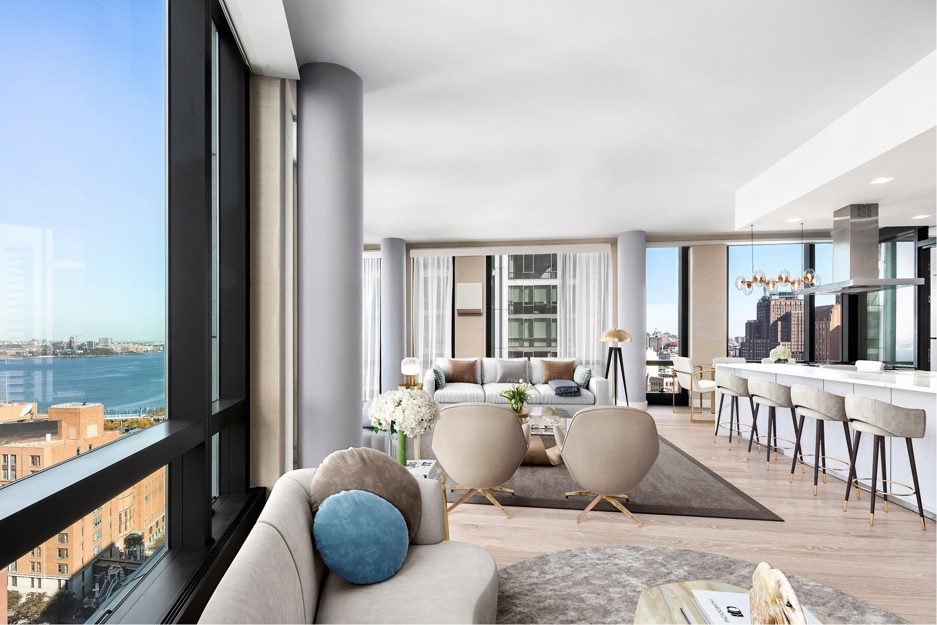 5. Condominiums for Sale at 101 Warren St, 2420 TriBeCa, New York, NY 10007