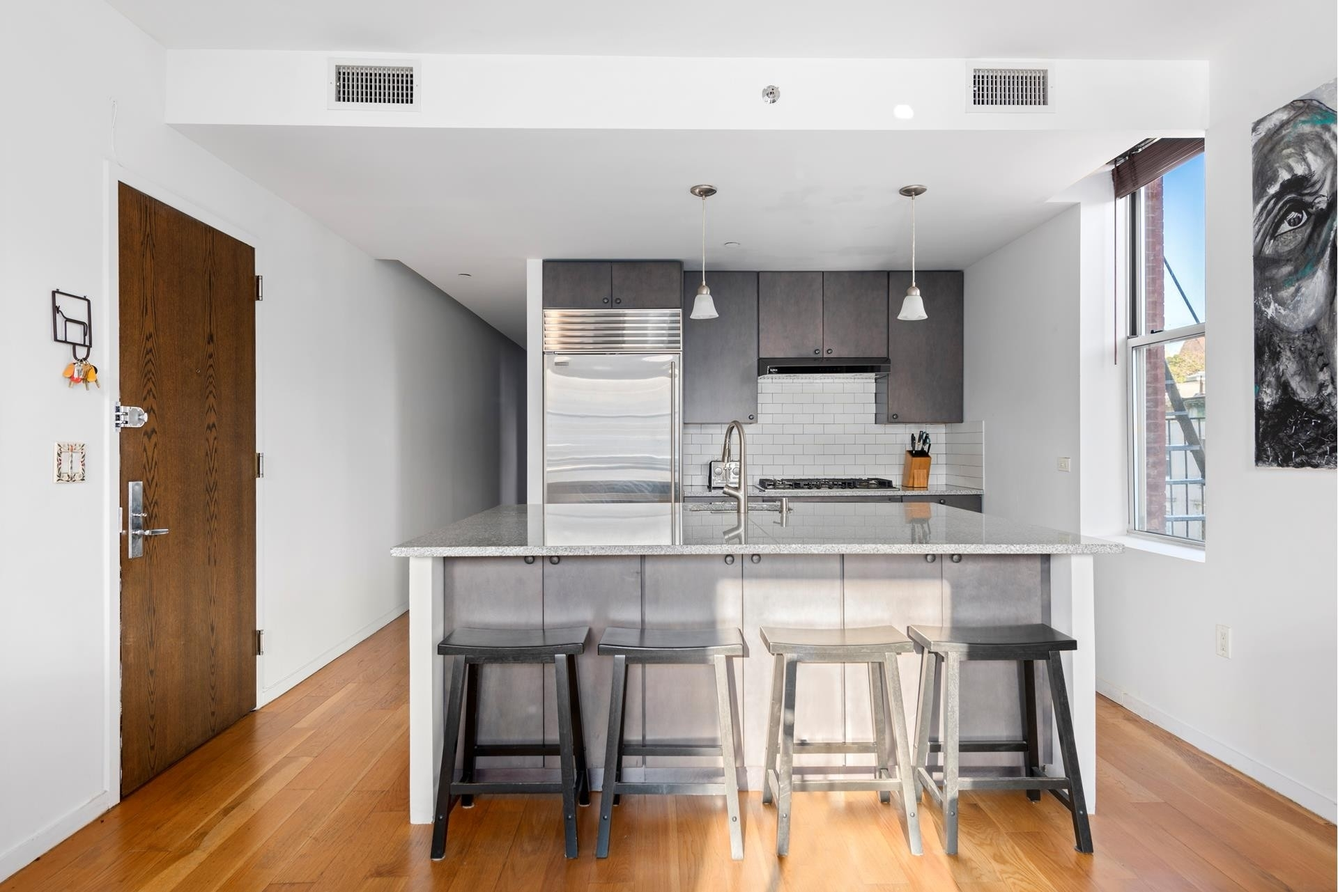 6. Condominiums for Sale at One Striver's Row, 2605 Frederick Douglass Boulevard, 4B Central Harlem, New York, NY 10030