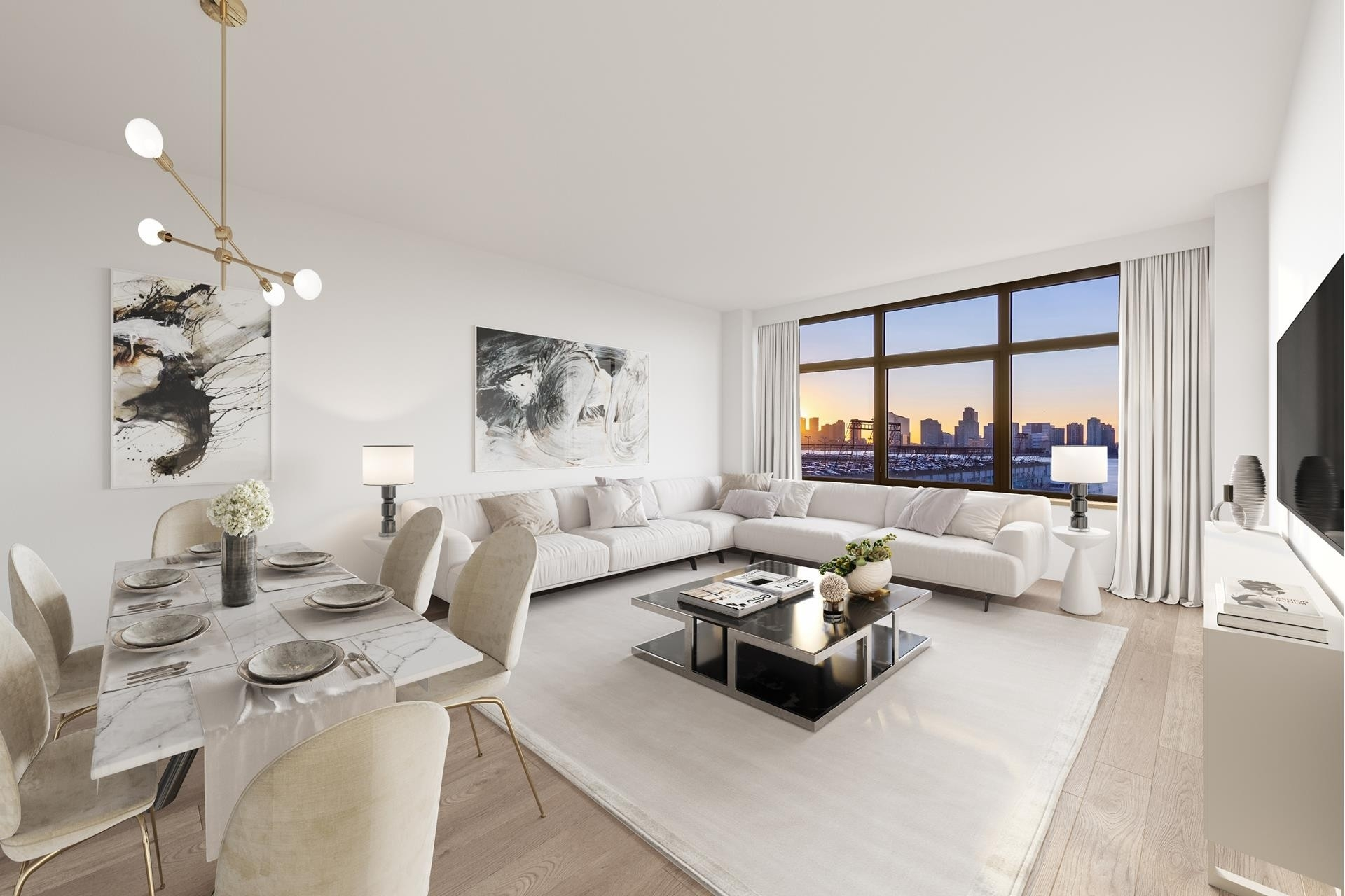 Condominium at 1 Morton Square, 6EW West Village, New York, NY 10014