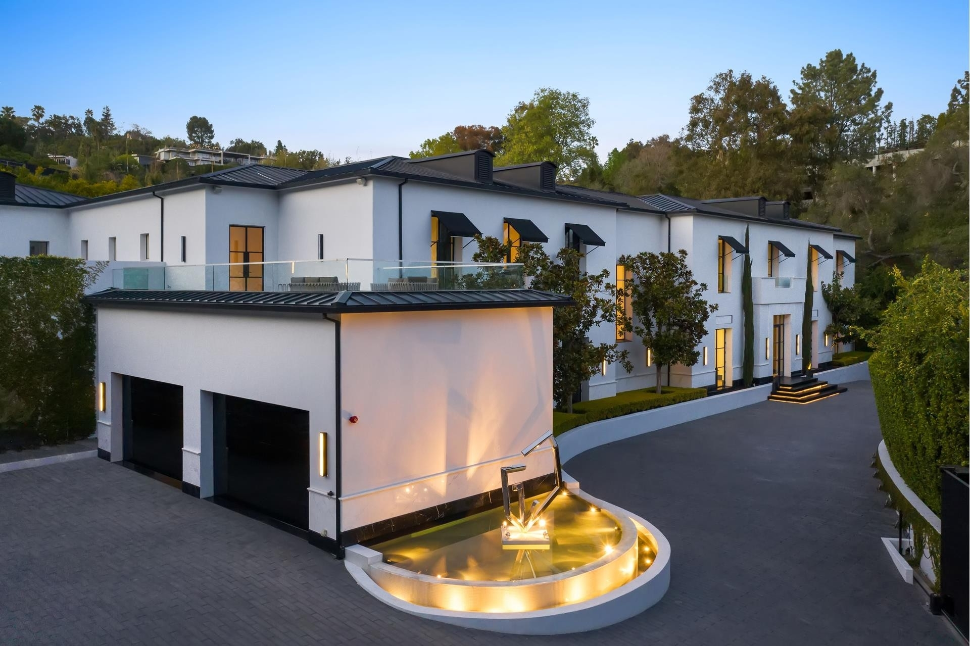 2. Single Family Homes pour l Vente à Bel Air, Los Angeles, CA 90077