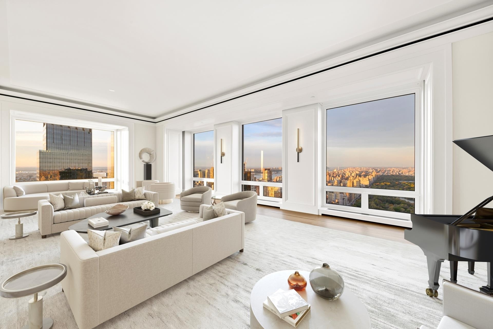 2. Condominiums for Sale at 220 CPS, 220 CENTRAL PARK S, 54/55A Central Park South, New York, NY 10019