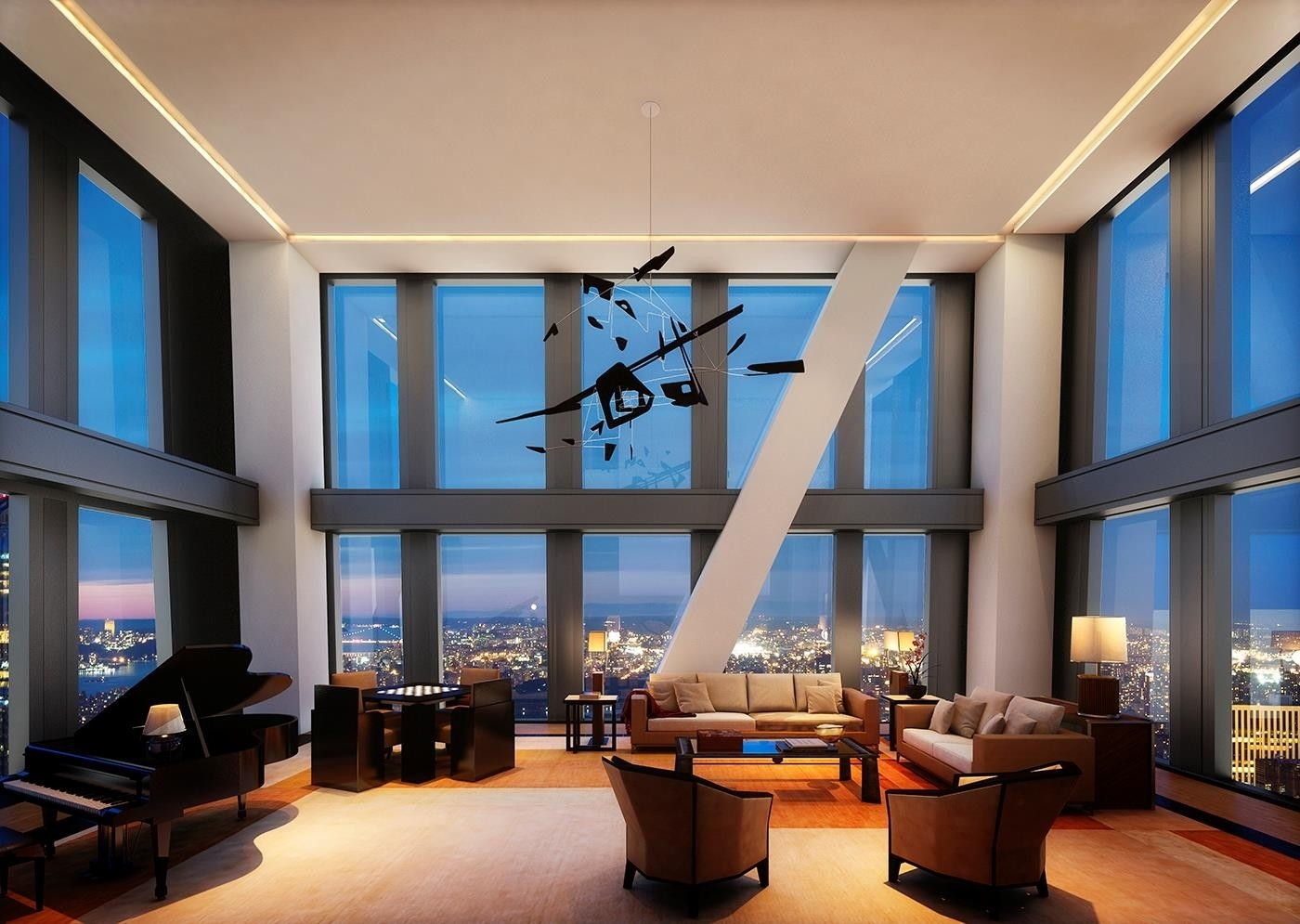 4. Condominiums pour l Vente à 53W53, 53 53RD ST W, PH78 Midtown West, New York, NY 10019