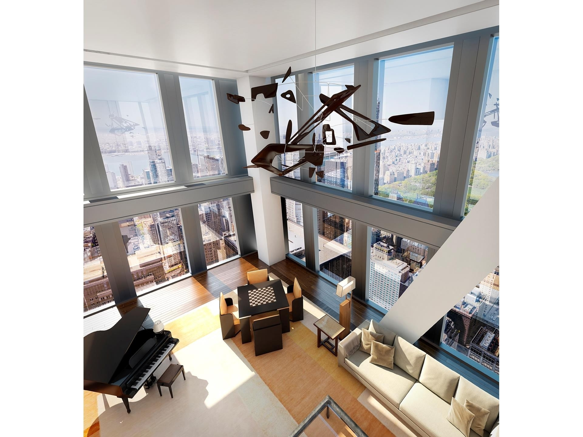 3. Condominiums pour l Vente à 53W53, 53 53RD ST W, PH78 Midtown West, New York, NY 10019