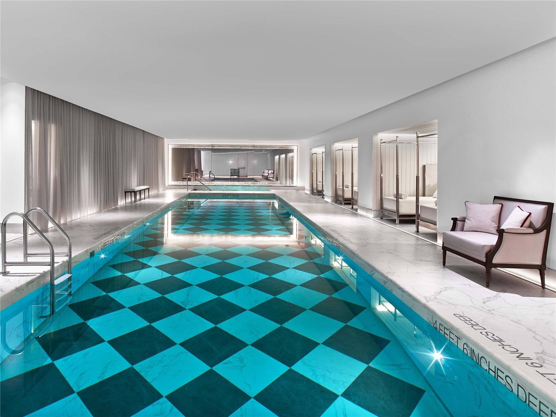 17. Condominiums for Sale at BACCARAT HOTEL & RESIDENCES, 20 West 53rd St, PH48/49 Midtown West, New York, NY 10019