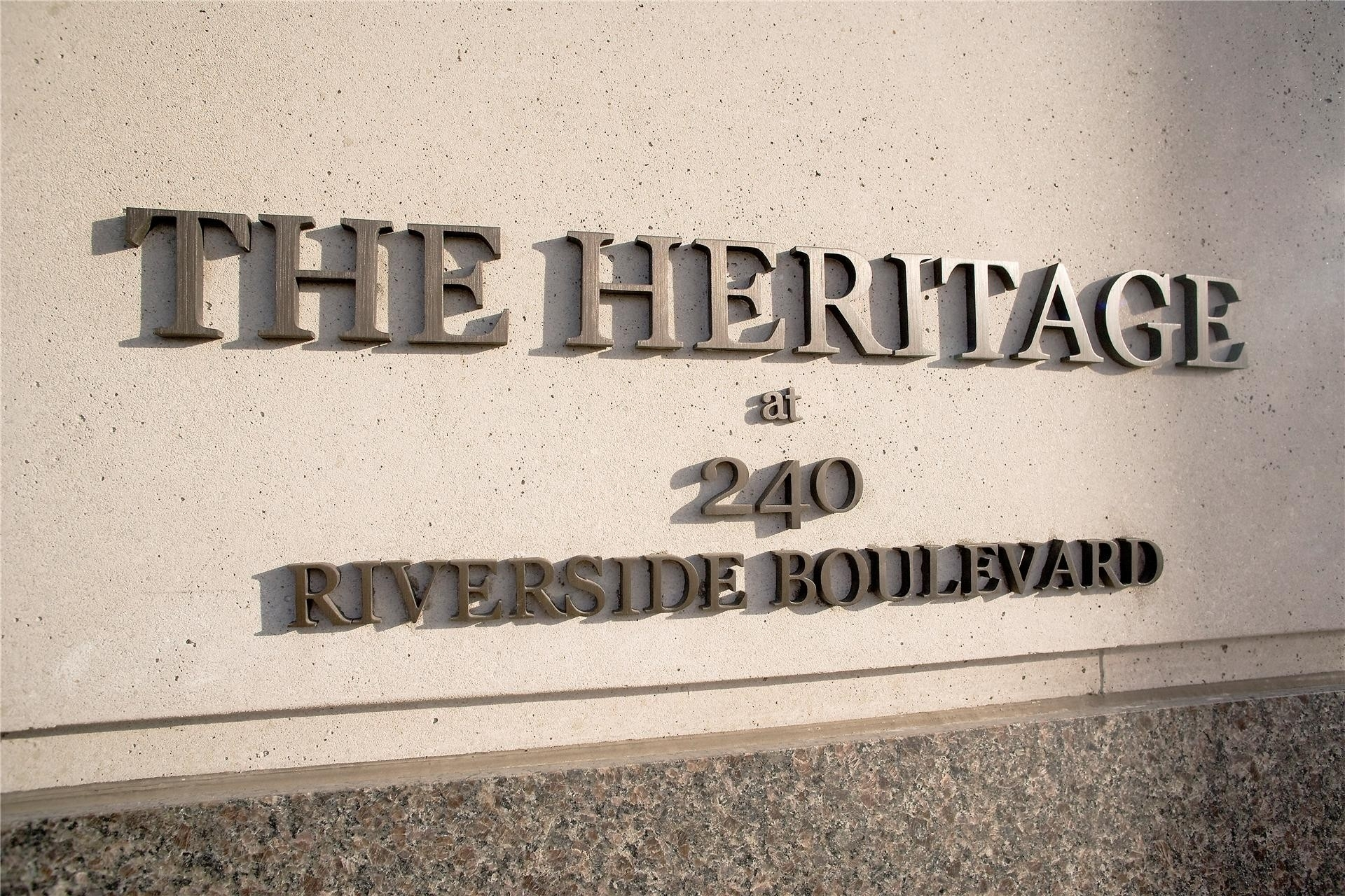 2. The Heritage building at 240 Riverside Boulevard, Lincoln Square, New York, NY