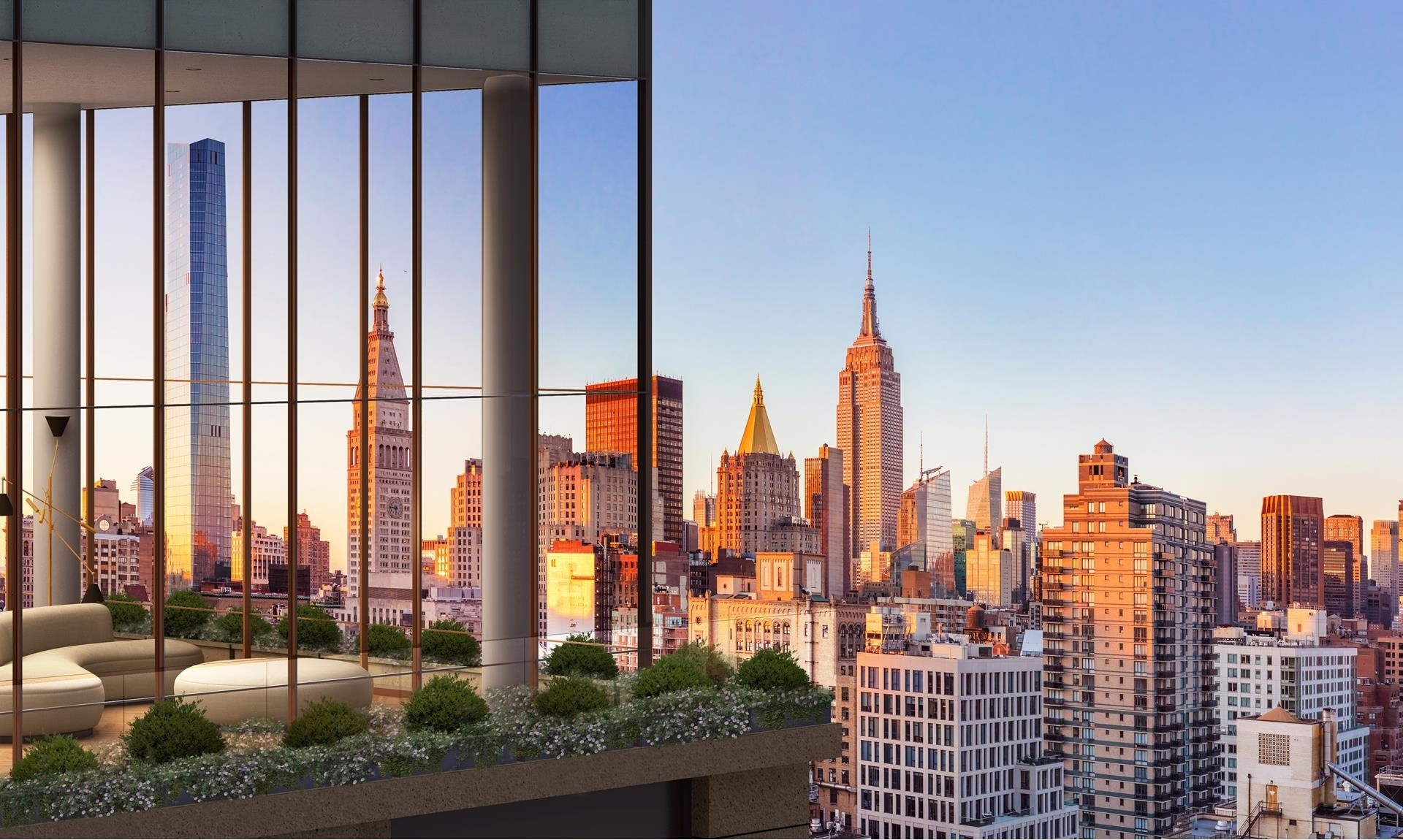 Condominium for Sale at Gramercy Square, 215 East 19th St, 15B Gramercy Park, New York, NY 10003