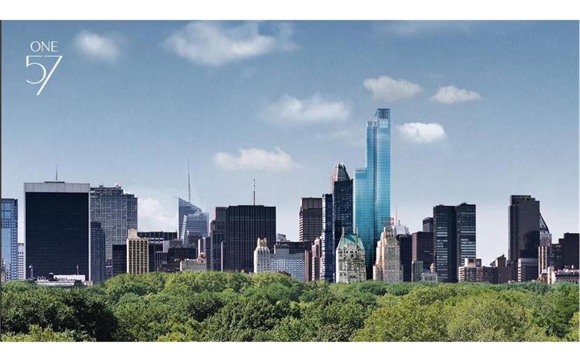 25. Condominiums для того Продажа на One57, 157 West 57th St, 87 Midtown West, New York, NY 10019