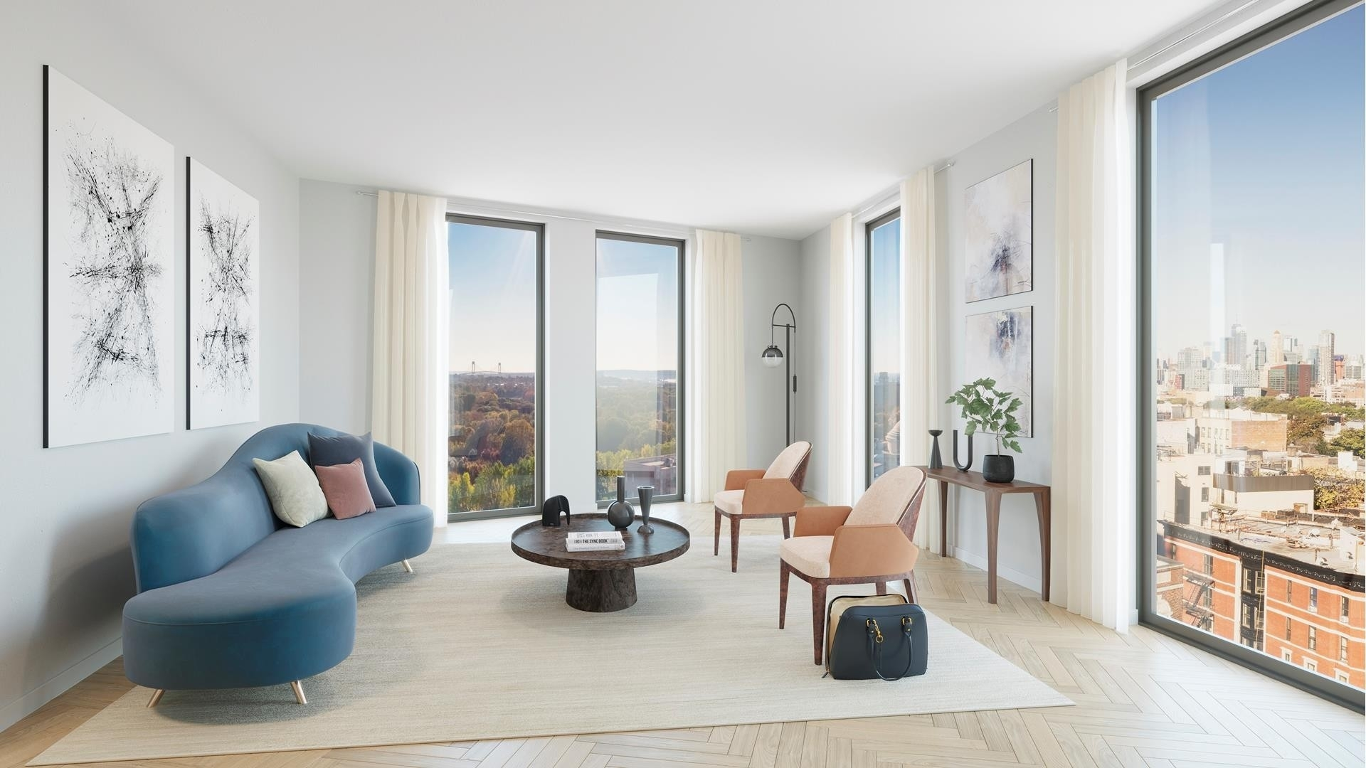 Condominium for Sale at 805 Washington Avenue, PH9B Prospect Heights, Brooklyn, NY 11238