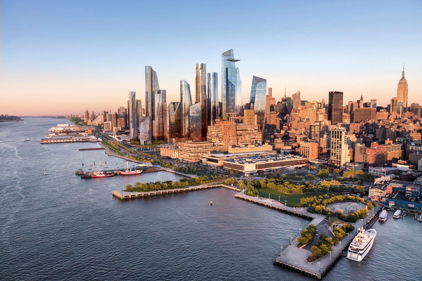 37. Condominiums por un Venta en 15 Hudson Yards, 63C Hudson Yards, New York, NY 10001