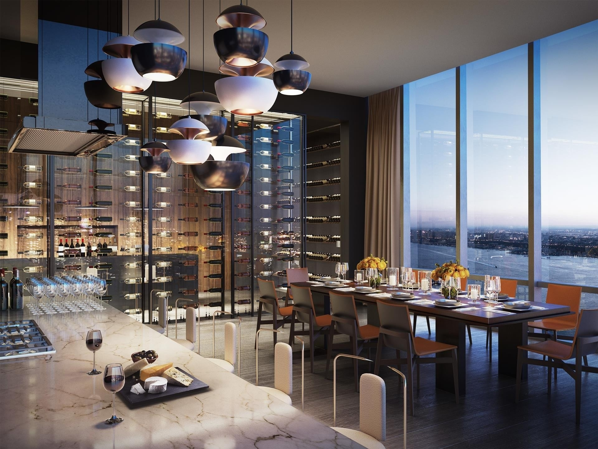 21. Condominiums por un Venta en 15 Hudson Yards, 63C Hudson Yards, New York, NY 10001