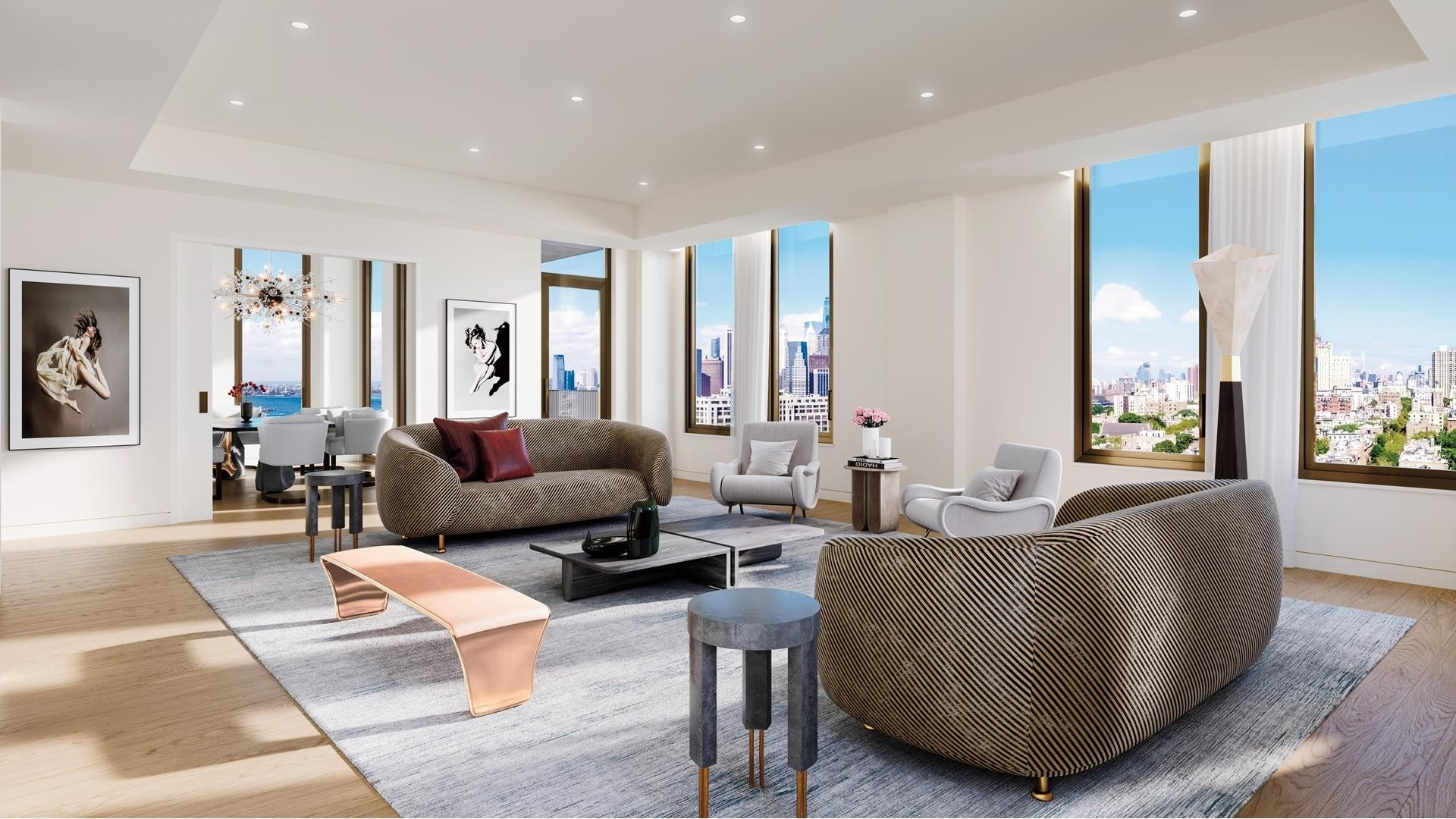 Condominium pour l Vente à 5 River Park, 347 Henry St, PH Cobble Hill, Brooklyn, NY 11201