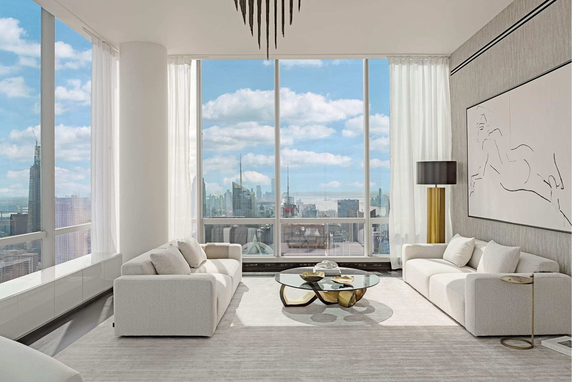 15. Condominiums для того Продажа на One57, 157 West 57th St, 87 Midtown West, New York, NY 10019