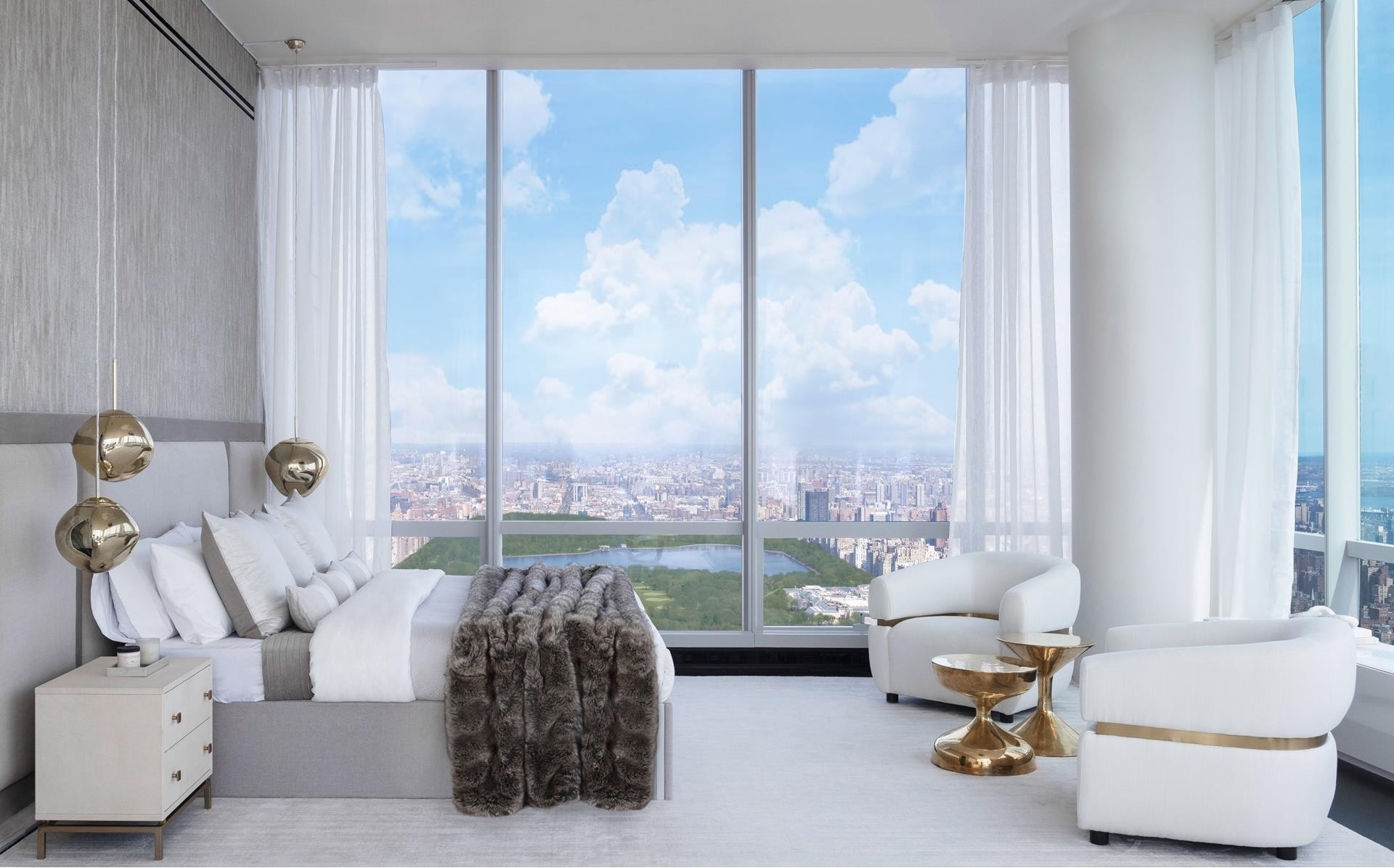 13. Condominiums для того Продажа на One57, 157 West 57th St, 87 Midtown West, New York, NY 10019