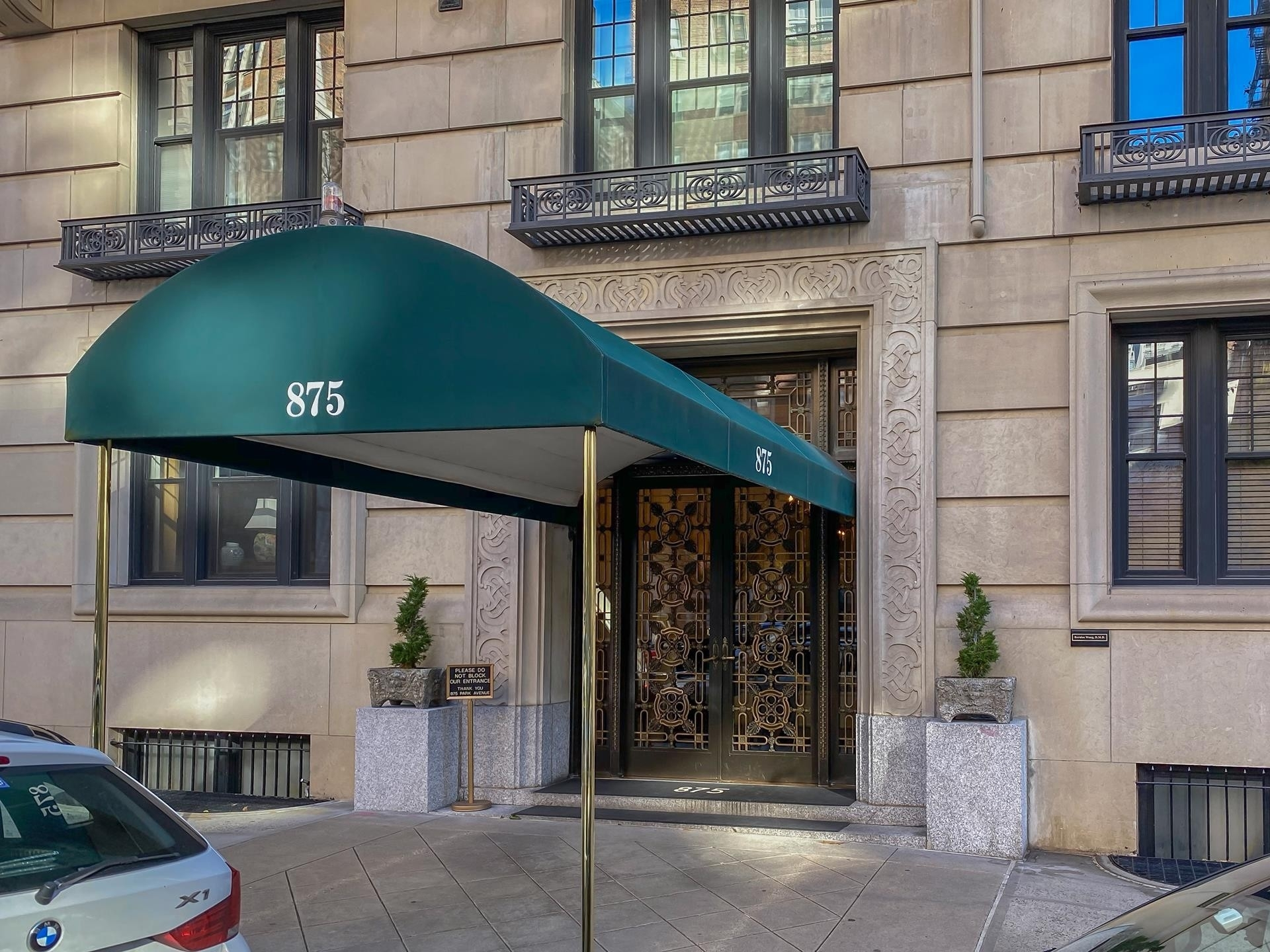 1. building at 875 Park Avenue, Upper East Side, New York, NY