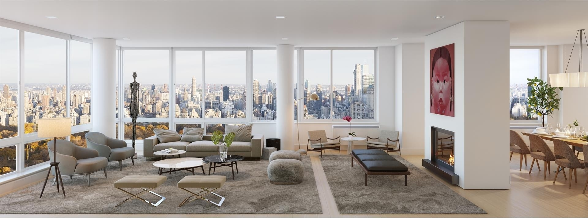 Condominium for Sale at The Millennium Tower, 101 West 67th St, 55PH2AB Lincoln Square, New York, NY 10023