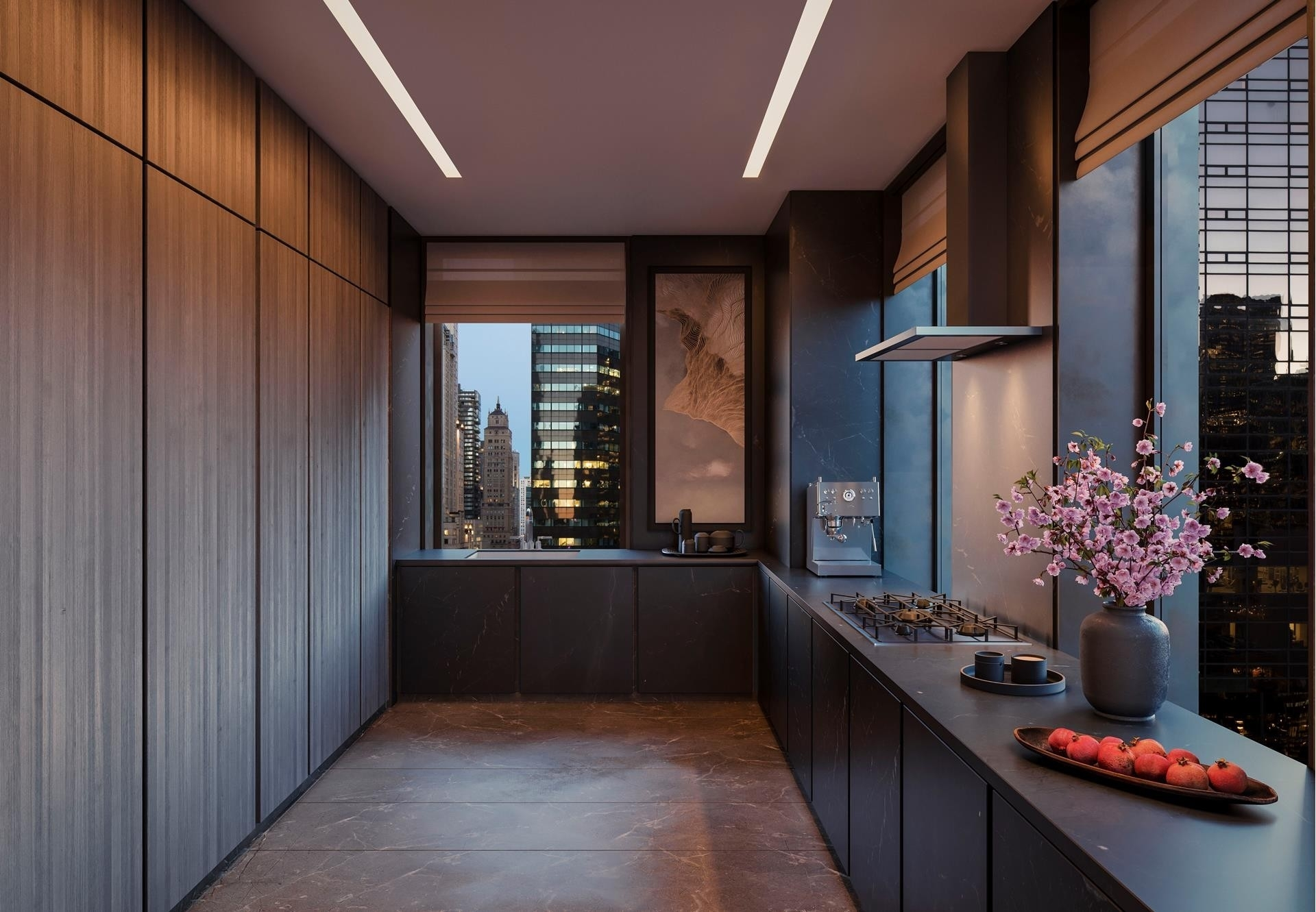 Property в Aman NY Residences, 730 FIFTH AVE , 18D Midtown West, New York, NY 10019