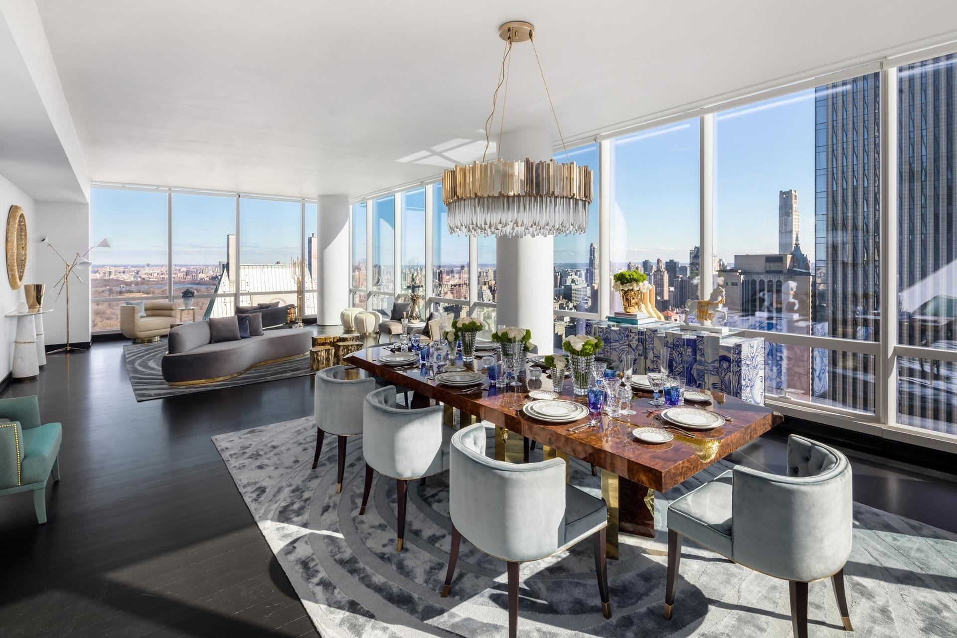 4. Condominiums for Sale at One57, 157 West 57th St, 45C Midtown West, New York, NY 10019
