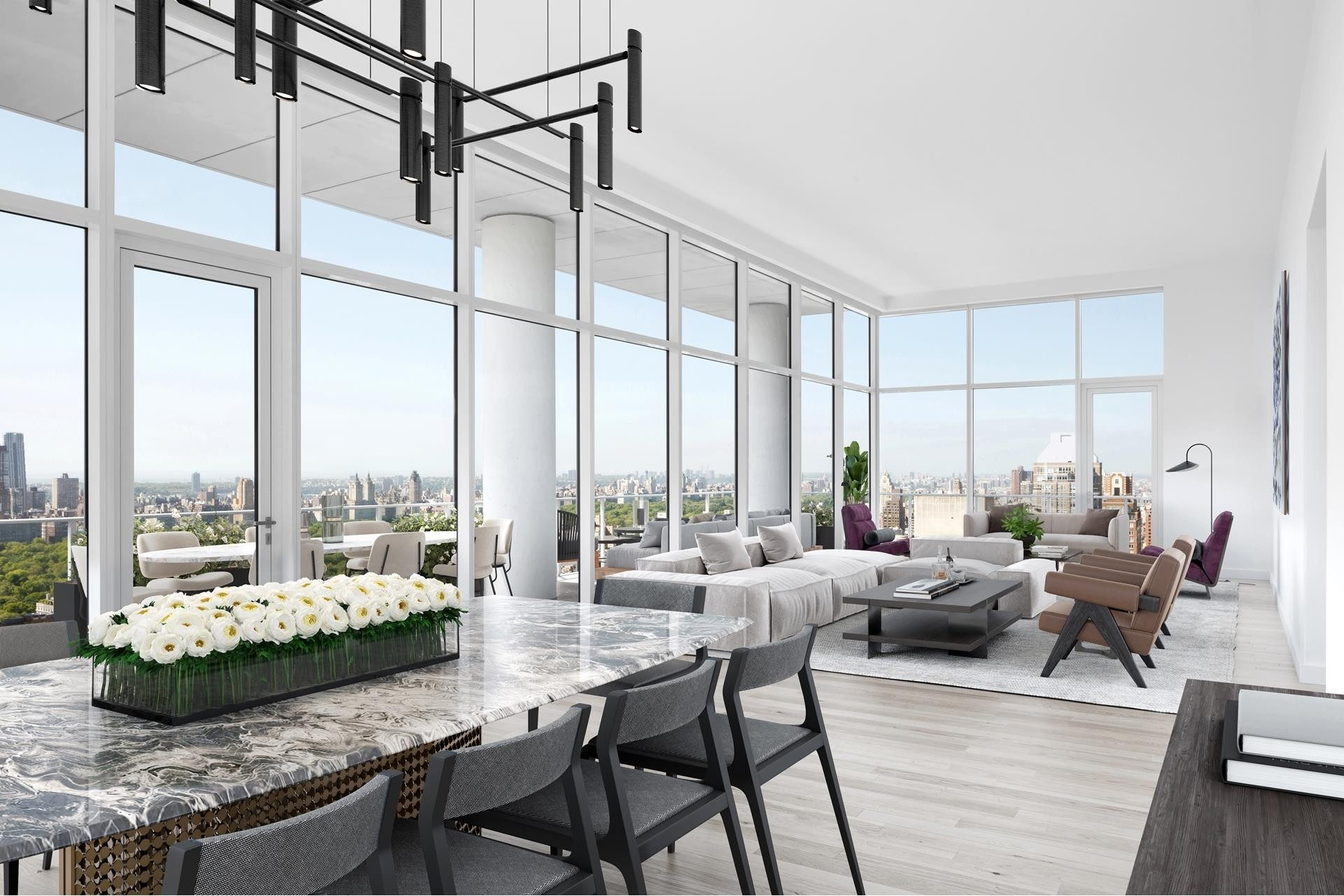 3. Condominiums for Sale at 200 East 59th St, PH33 Midtown Manhattan, New York, NY 10022