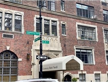 12. Co-op Properties for Sale at GRAMERCY OWNERS LTD, 44 Gramercy Park North, 4D Gramercy Park, New York, NY 10010