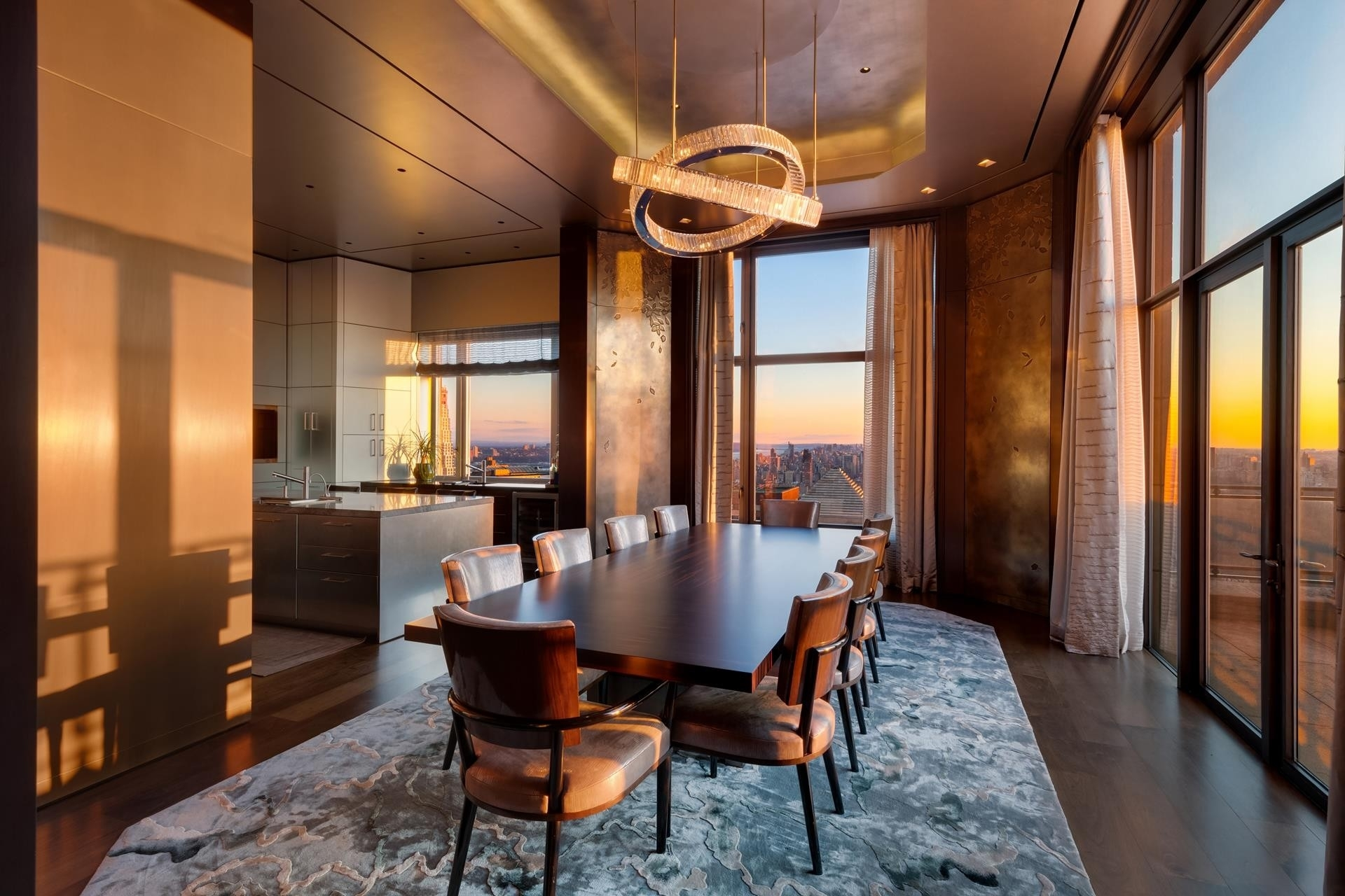 3. Condominiums для того Продажа на 15 Cpw, 15 CENTRAL PARK W, PH41 Lincoln Square, New York, NY 10023