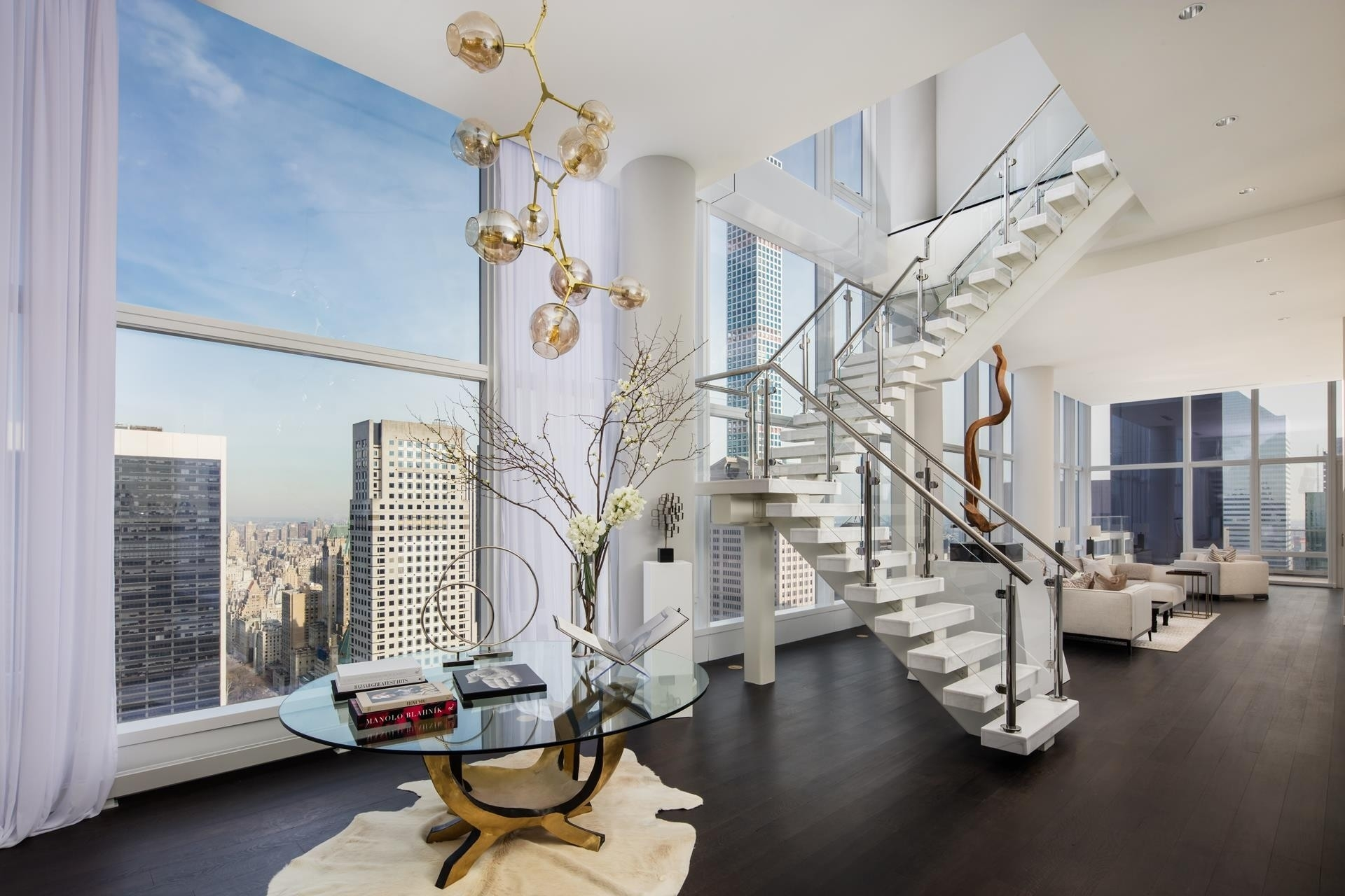 2. Condominiums for Sale at BACCARAT HOTEL & RESIDENCES, 20 West 53rd St, PH48/49 Midtown West, New York, NY 10019