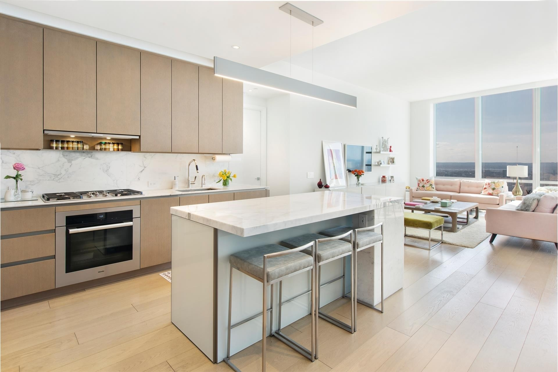 5. Condominiums por un Venta en 15 Hudson Yards, 63C Hudson Yards, New York, NY 10001