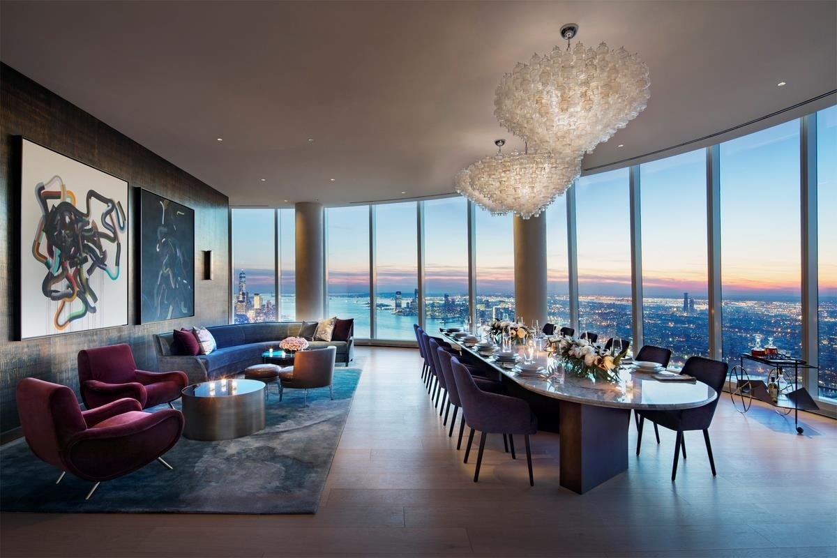 8. Condominiums at 15 Hudson Yards, 76A New York